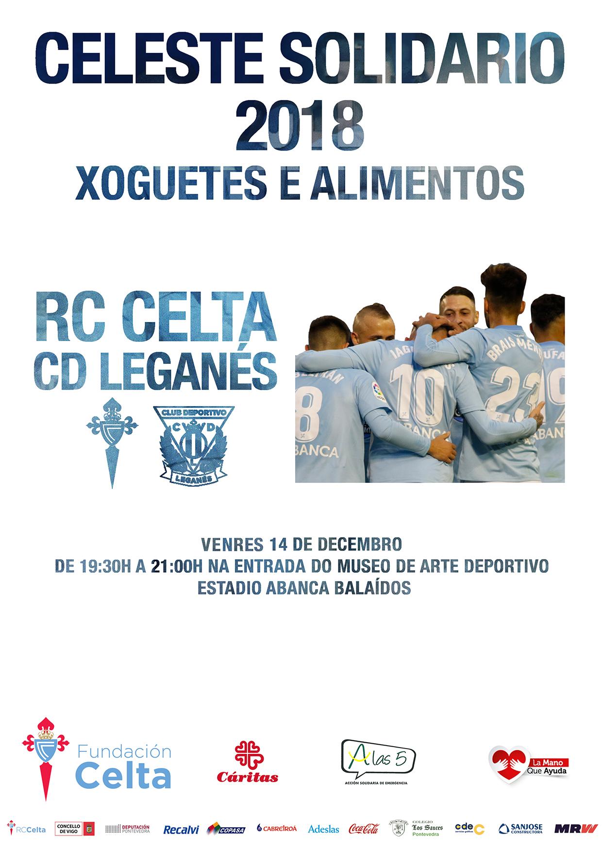 Celeste Solidario LEGANES_2018